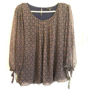 Sara Michelle Womens Blouse BRAND NEW